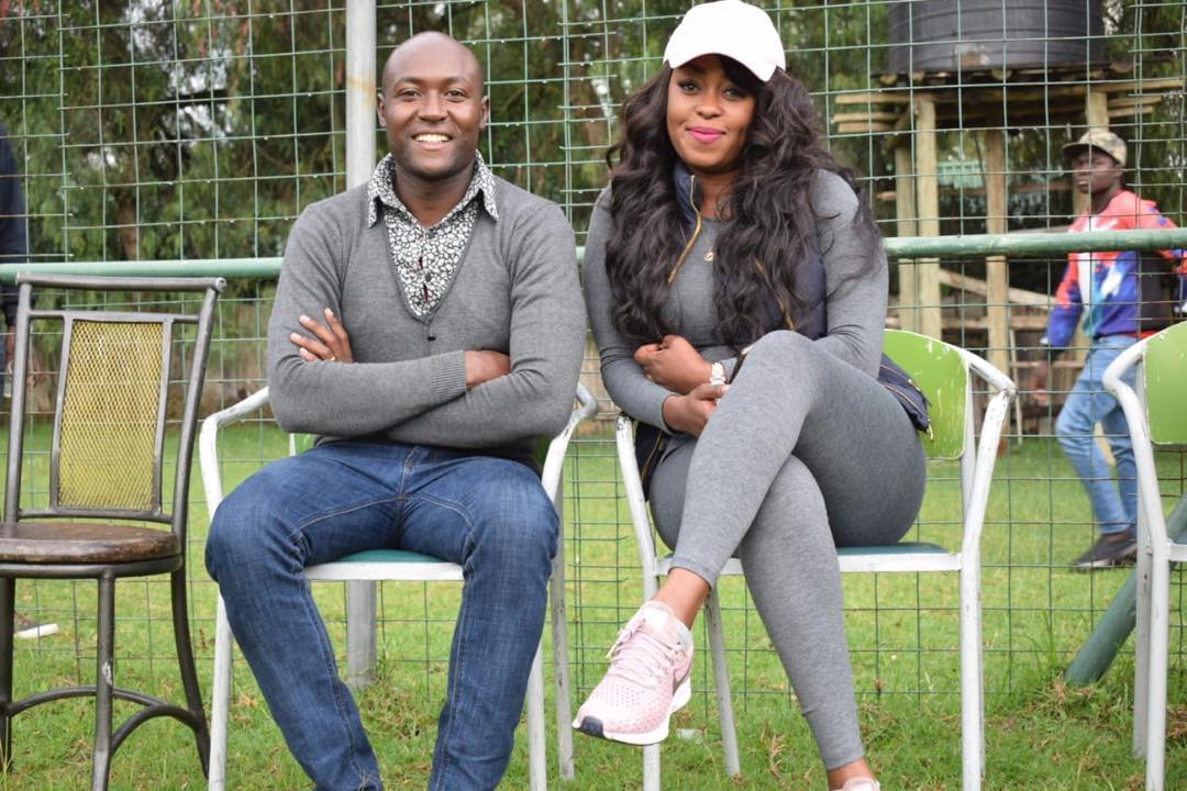 60981354 140965880303331 3535372642569744152 n 1 - Lillian Muli and hubby Jared steal the show at Old Trafford stadium (photos)