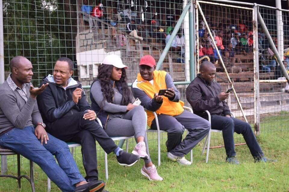 62121779 2422590294460251 909496064078249984 n - Lillian Muli and hubby Jared steal the show at Old Trafford stadium (photos)