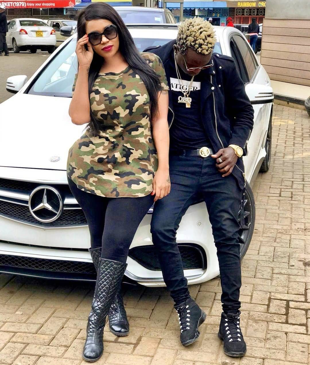 Willy Paul and Vera Sidika