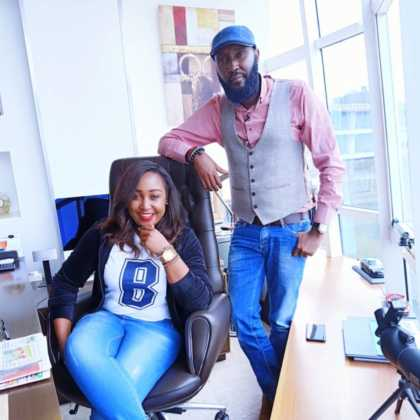 Shaffie Weru and Betty Kyallo