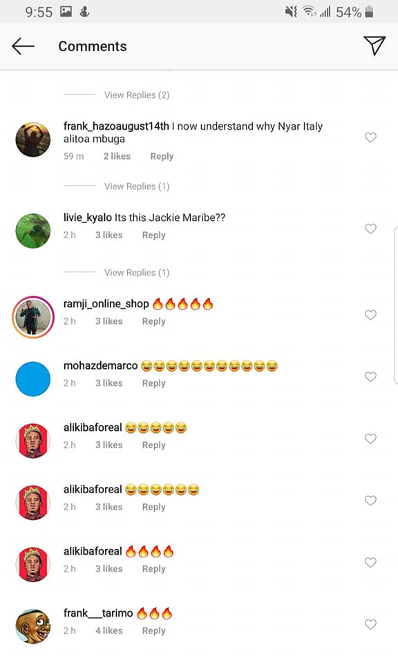 Kenyans comments