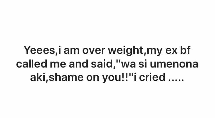 65584055 2551558254877955 3209666276192419840 n - 'He called me a fat b***h,' Kenyan women narrate struggle with weight loss