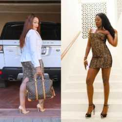 Akothee and Zari 250x250 - Wololo! Akothee responds to claims she's not in good terms with Zari