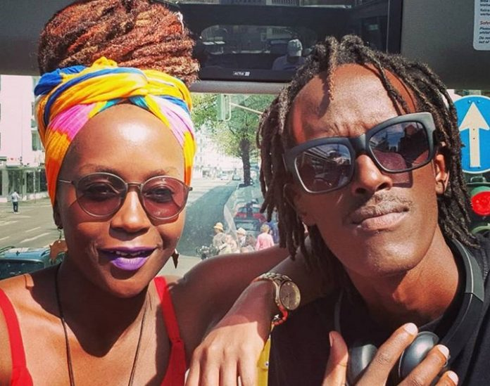 Anne Kansiime and boyfriend Skylanta 2 696x549 - 'I will forever miss,' Anne Kansiime's lover mourns