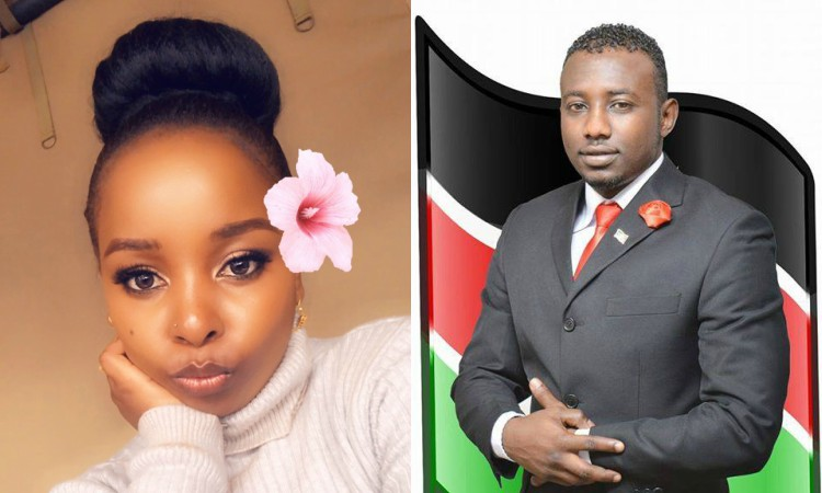 Aumu Mbuvi and senator Anwar - Mike Sonko speaks out for his daughter Saumu Mbuvi after attack by goons