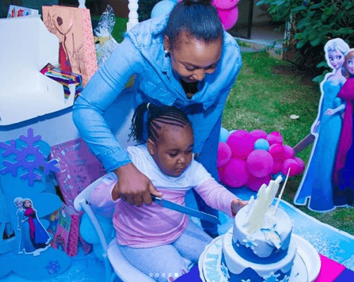 Betty Kyallo party - Dennis Okari misses out on daughter's 5th birthday with Betty Kyallo