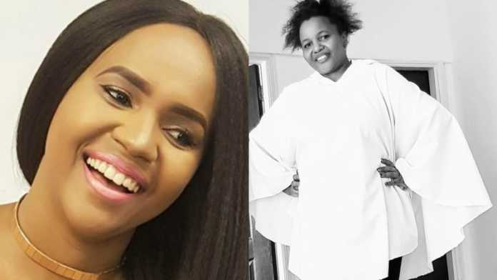DJ Pierra with sister 696x392 - 'She held my hand in the delivery room,' Pierra Makena narrates