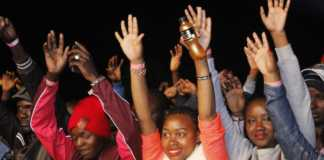 Fans at Morgan heritage