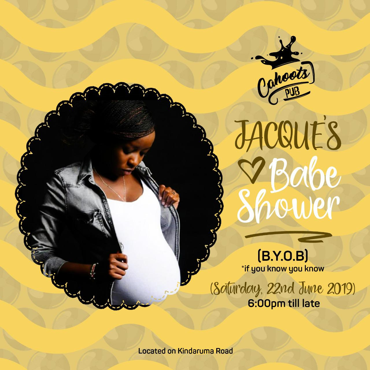 Jacque Babe shower - Jacque Maribe's sister responds to 'pregnancy rumours'