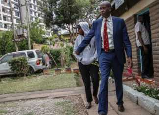 Jacque Maribe with her father