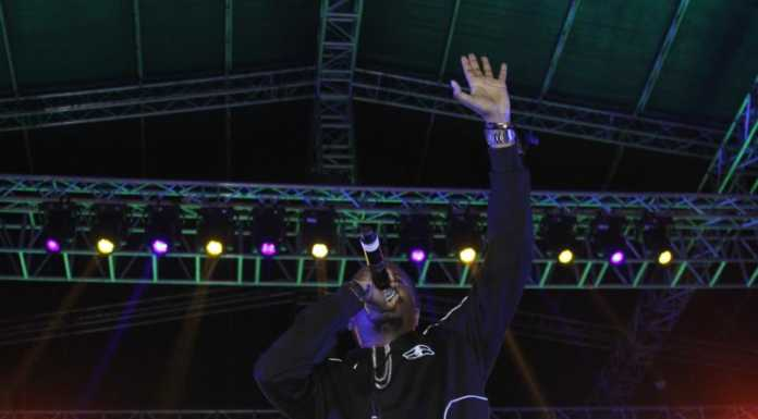 Jua Cali 696x385 - Exclusive photos of how it went down at Morgan Heritage's show