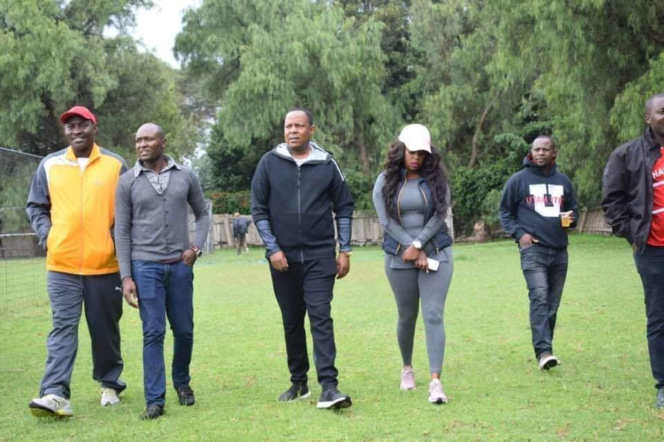 Lillian Muli and Jared - Lillian Muli and hubby Jared steal the show at Old Trafford stadium (photos)