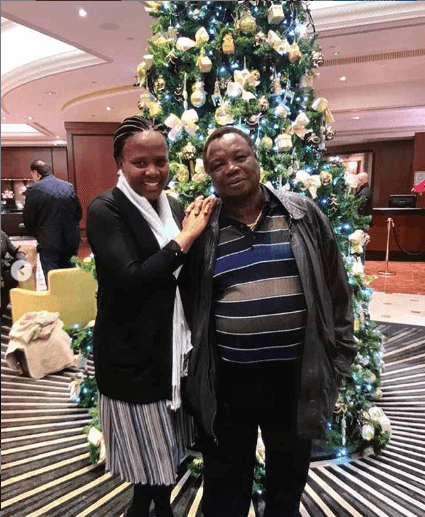 Mary Kilobi Atwoli2 - KTN TV's Mary Kilobi buys husbae brand new 2019 Mercedes Benz
