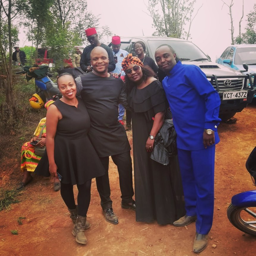 Mwakideu's mother's burial