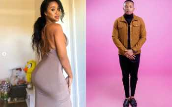 Nabayet and Otile 350x219 - 'She nags and complains,' Otile Brown savagely shades Nabayet