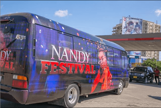 Nandy tour bus - Diamond's message to Willy Paul after accident
