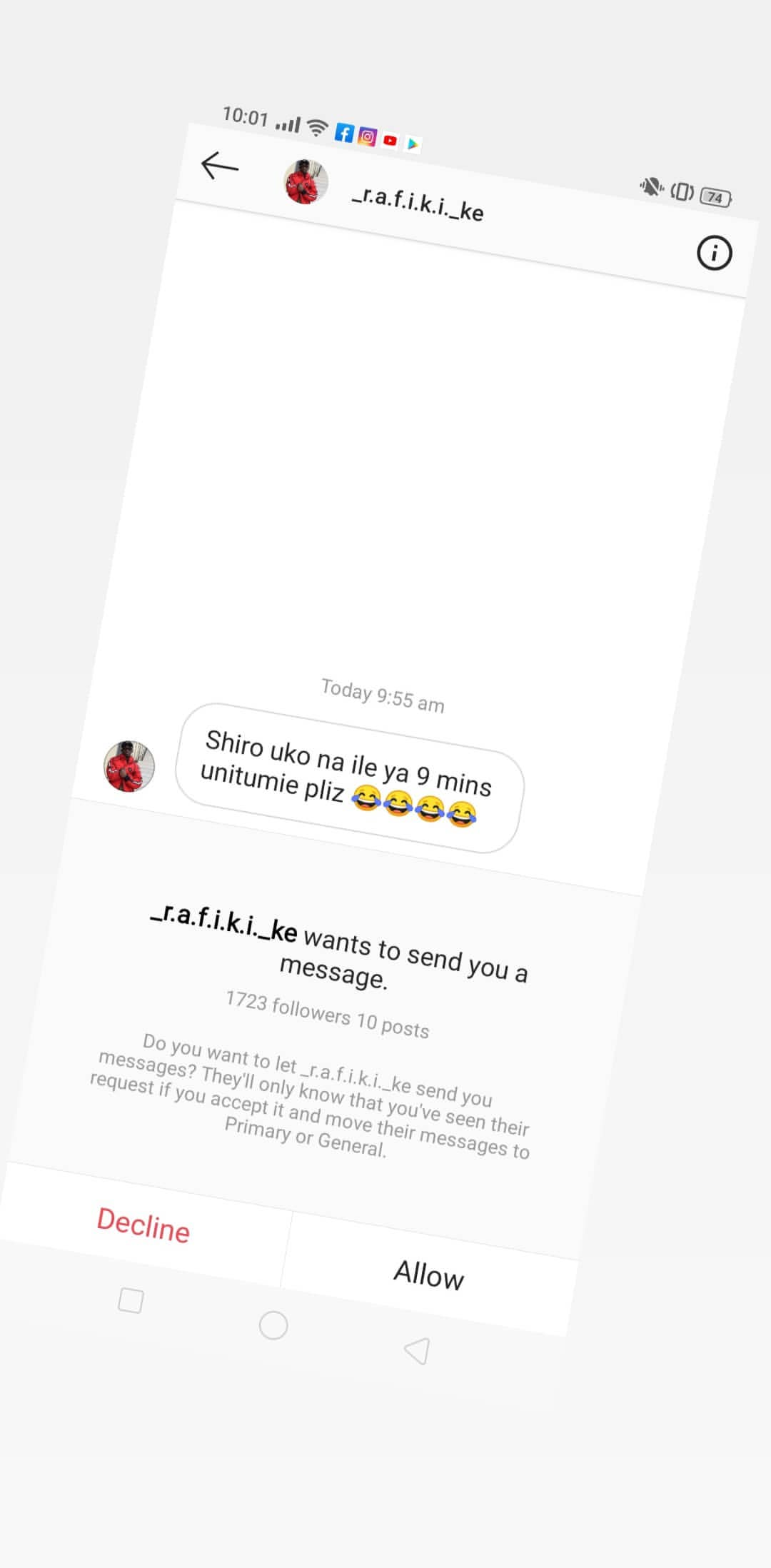 Nyce leaked12 - Nyce Wanjeri breaks her silence exposes blackmailers in her DM