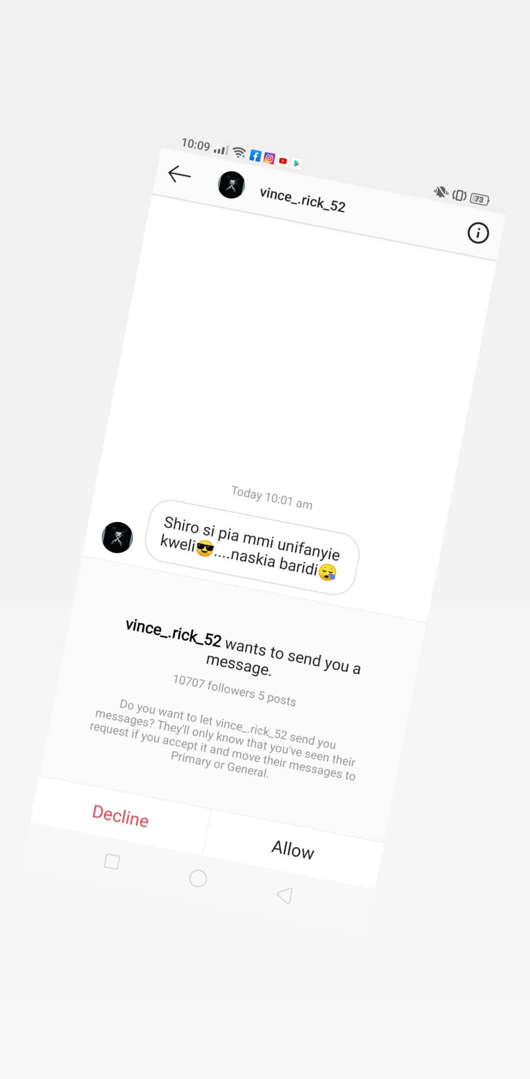 Nyce leaked21 - Nyce Wanjeri breaks her silence exposes blackmailers in her DM