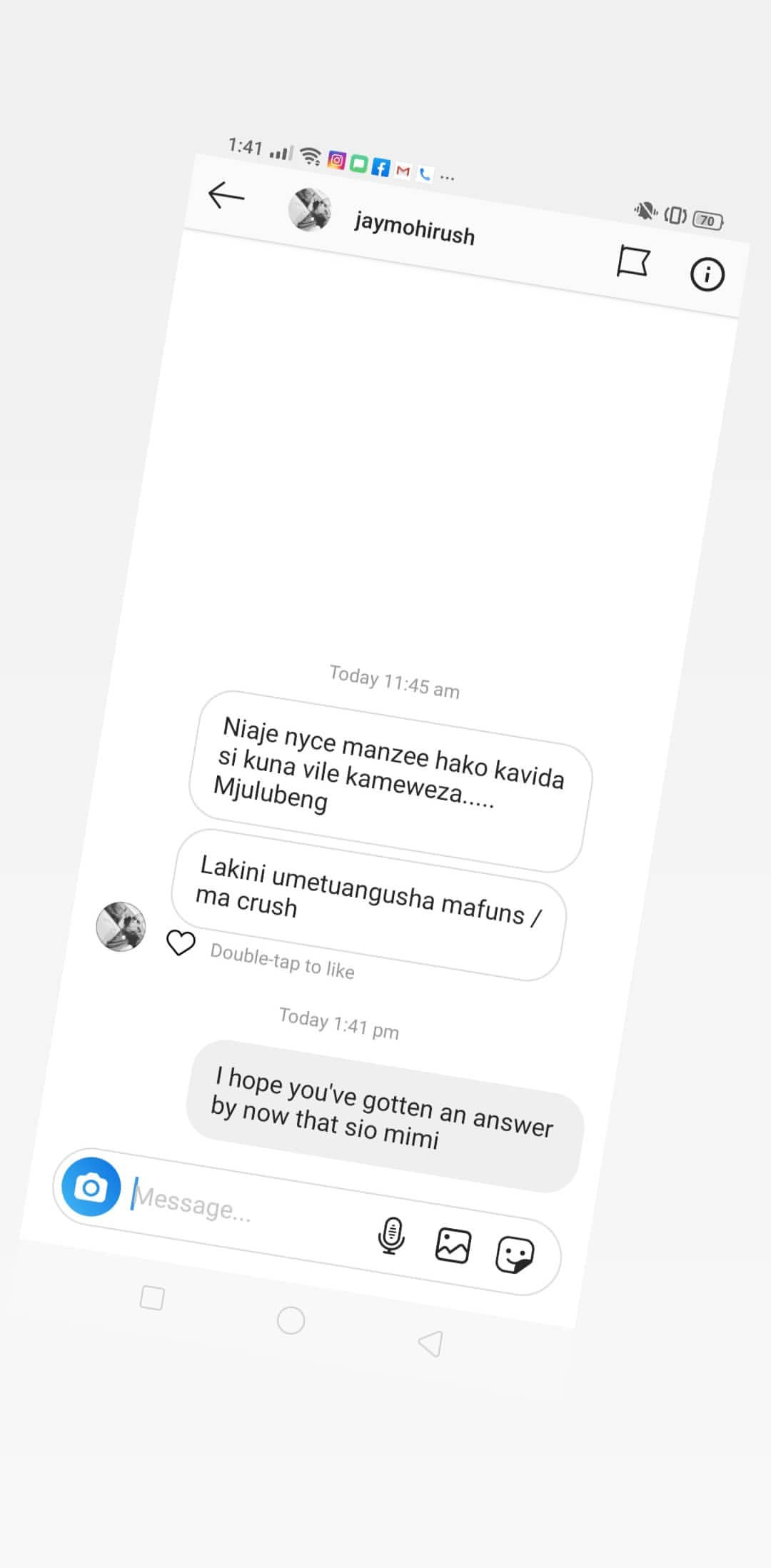 Nyce leaked29 - Nyce Wanjeri breaks her silence exposes blackmailers in her DM