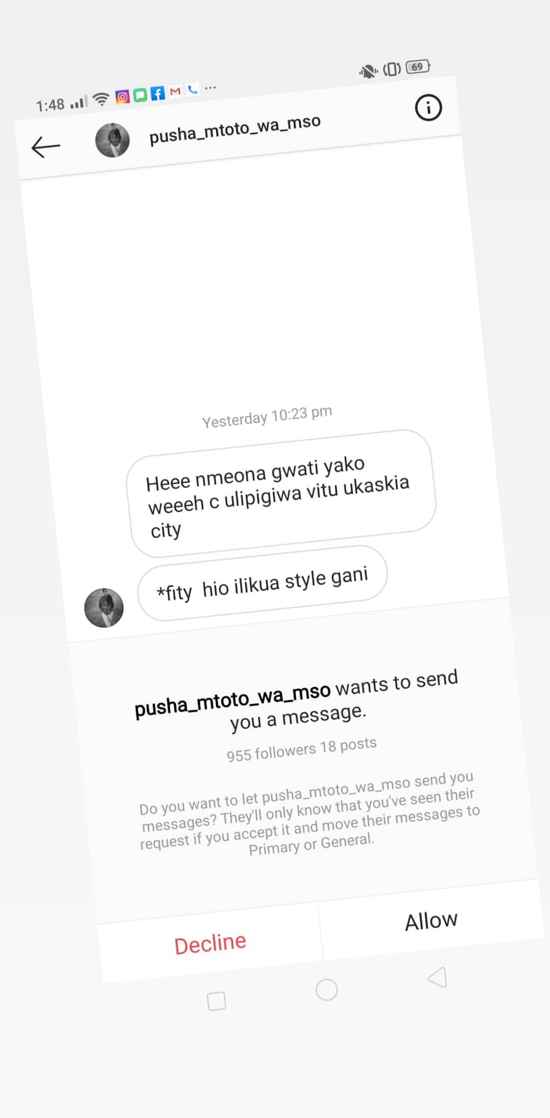 Nyce leaked32 - Nyce Wanjeri breaks her silence exposes blackmailers in her DM