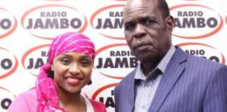 Pastor Deya with Massawe Japanni