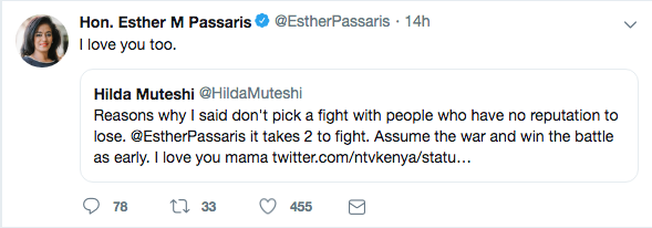 Screen Shot 2019 06 02 at 10.25.15 AM - 'Sonko went too low,' Esther Passaris responds to 'bwanako' insult