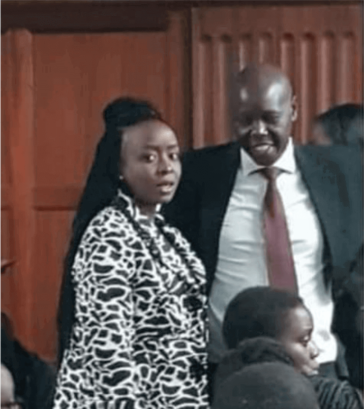 Screen252520Shot2525202019 06 21252520at2525206.29.26252520AM - Dennis Itumbi mocks Jacque Maribe's 'pregnancy'! Speaks about it