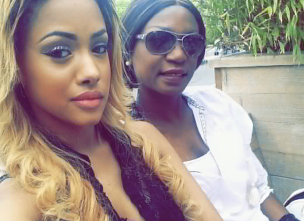 Tanasha Donna and mum Diana Oketch e1549444874459 - Kenyan female celebrities you did not know have white parents