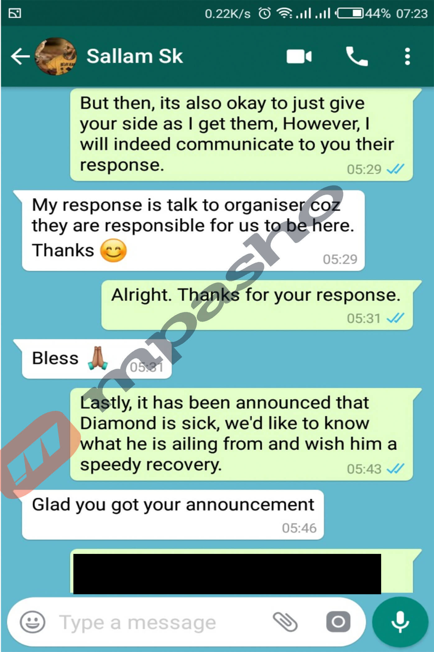 Untitled 1. 1 1 - Exclusive: Manager reveals why Diamond failed to perform in Nairobi