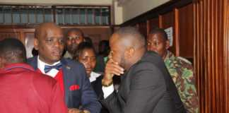 Jowie and Dennis Itumbi in court