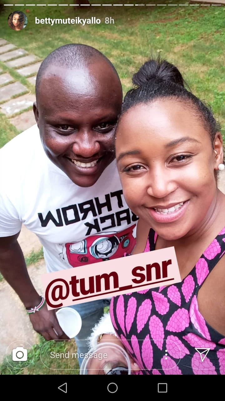 WhatsApp Image 2019 06 25 at 2.51.30 PM 1 - Dennis Okari misses out on daughter's 5th birthday with Betty Kyallo