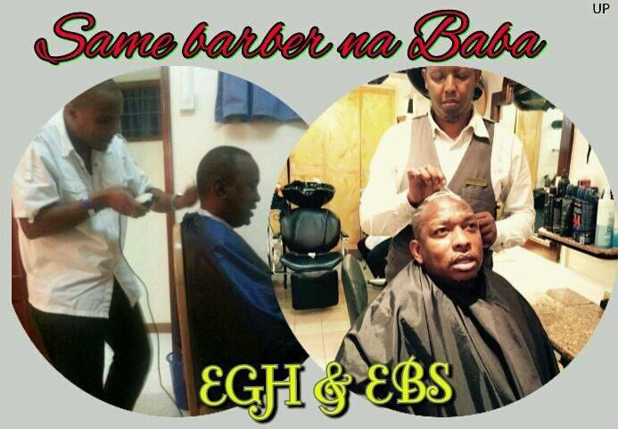 barber1 uhuru1 - Meet Uhuru Kenyatta, Sonko and Joho's hype barbers