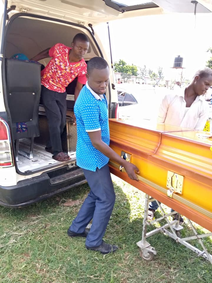 john gift burial1 - Luwere! Comedian John Gift laid to rest in Bungoma