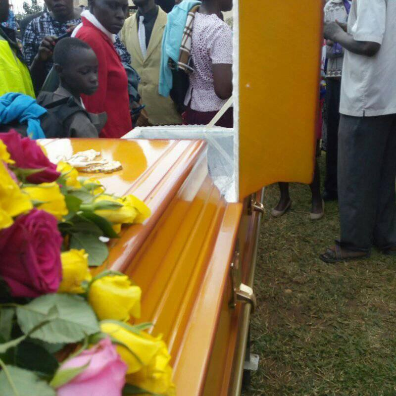 john gift burial2 - Luwere! Comedian John Gift laid to rest in Bungoma