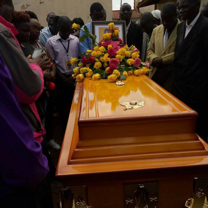john gift burial4 - Luwere! Comedian John Gift laid to rest in Bungoma