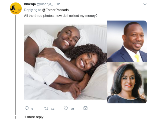 psassris orginal photo - Who did this! Esther Passaris fumes over photo-shopped bedroom pic