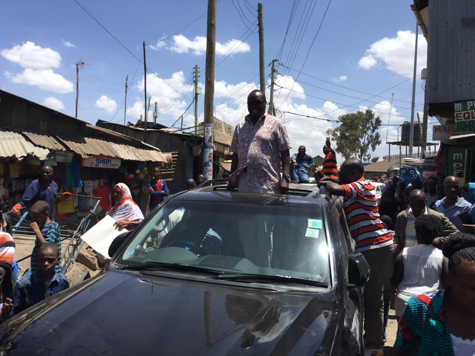 rongo MP 1 - There is a God! Rongo MP survives road accident unhurt