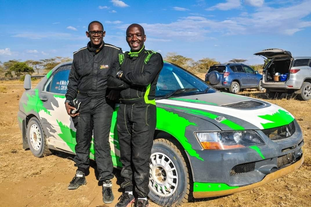 wAITA - State House iko ndani ndaaani! Nzioka Waita to participate in Safari rally