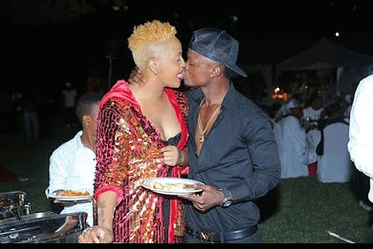 wolper and Harmonize - Sloppy celebrity kissers who should join kissing classes ASSAP