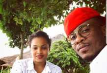 Ali Kiba and Amina Khalef