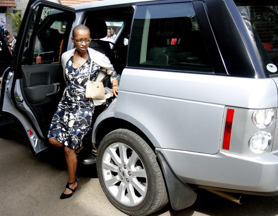 65752022 2562846423749138 3683268484516544512 n - Dance with the angels! Wambui dresses like this for Bob Collymore's memorial