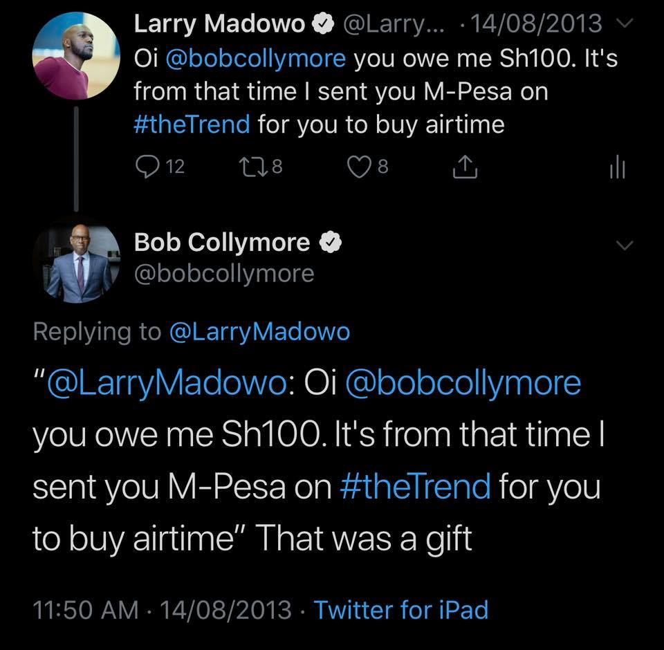 66013042 10156488515928295 6463582157326516224 n - 'He was disappointed in me,' BBC reporter Larry Madowo shares his intimate conversation with the late Bob Collymore