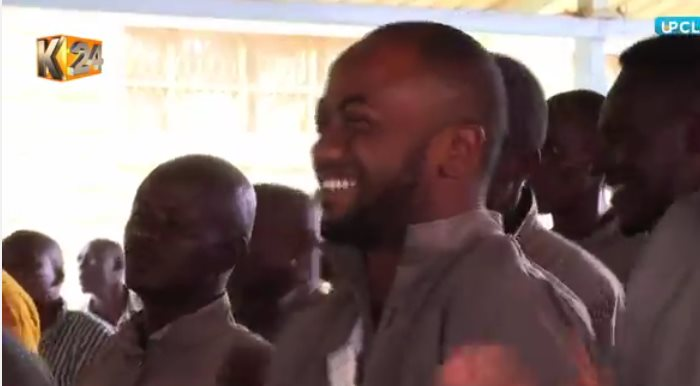 66473747 2565701443463636 6205229467766358016 n - Photos: Jowie caught on camera singing and dancing at Kamiti Maximum prison