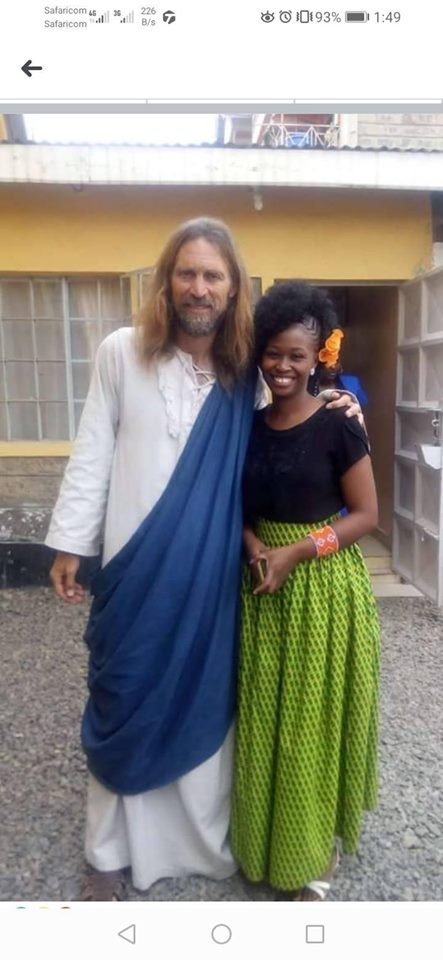 Jesus spotted in Nairobi