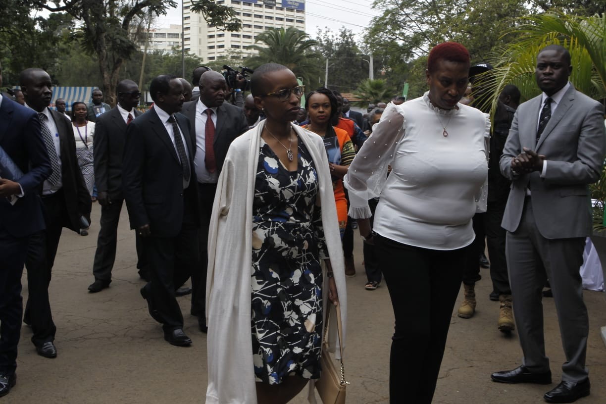 97c31412 a018 4dae 8c85 1ab395f5ebb9 - Dance with the angels! Wambui dresses like this for Bob Collymore's memorial