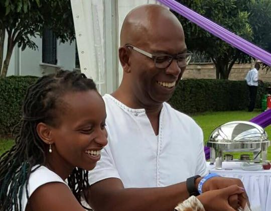 Bob Collymore36 e1499669998308 - Meet Wambui, the beautiful wife left behind by Bob Collymore – Photos