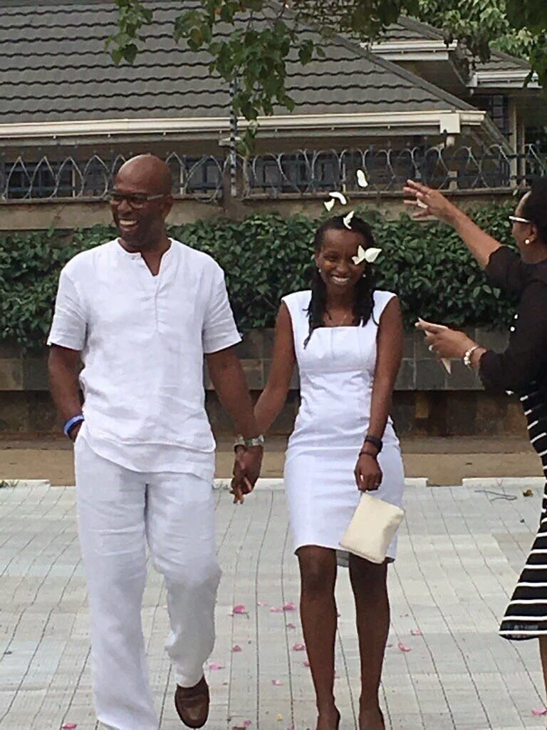 Bob collymore weds 2 768x1024 - Bob Collymore's life moments that will bring tears to your eyes!