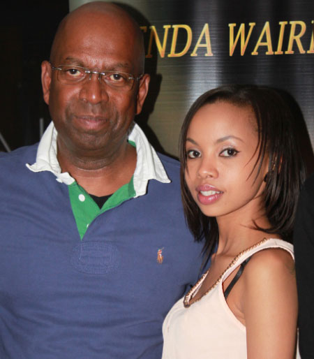 BrendaCollymore - 'We'll miss you!' Brenda Wairimu's emotional tribute to Bob Collymore