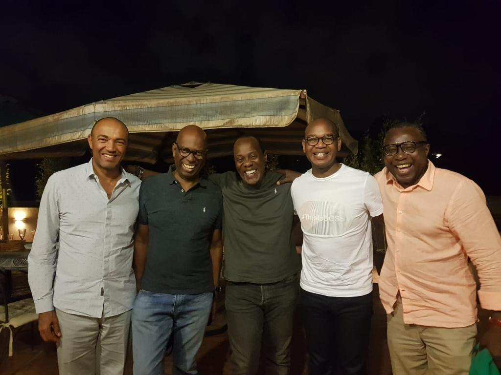 D k2WnkXkAAvMCP - Squad goals! Top CEOs pay tribute to BFF Bob Collymore