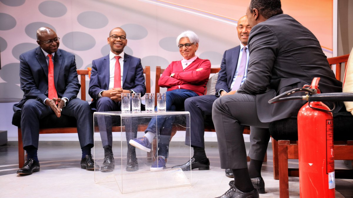 D k2oKkXsAA25jF - Squad goals! Top CEOs pay tribute to BFF Bob Collymore